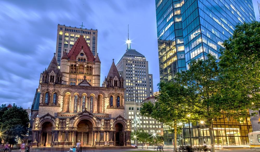 Bostom historical sites to visit: Trinity Church