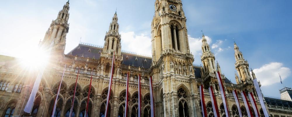 The Wiener Rathaus