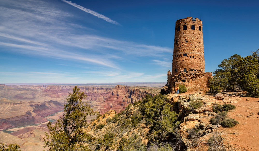 Desert View Watchtower Grand Canyon South rim, Arizona