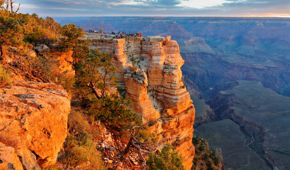 Sunrise at Mather Point, Grand Canyon National Park, South Rim