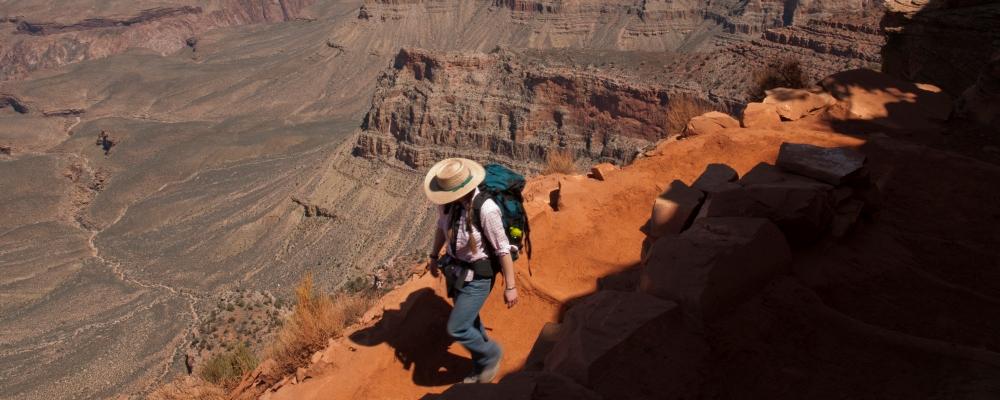 Hiking the Grand Canyons Kaibab Trail, South Rim