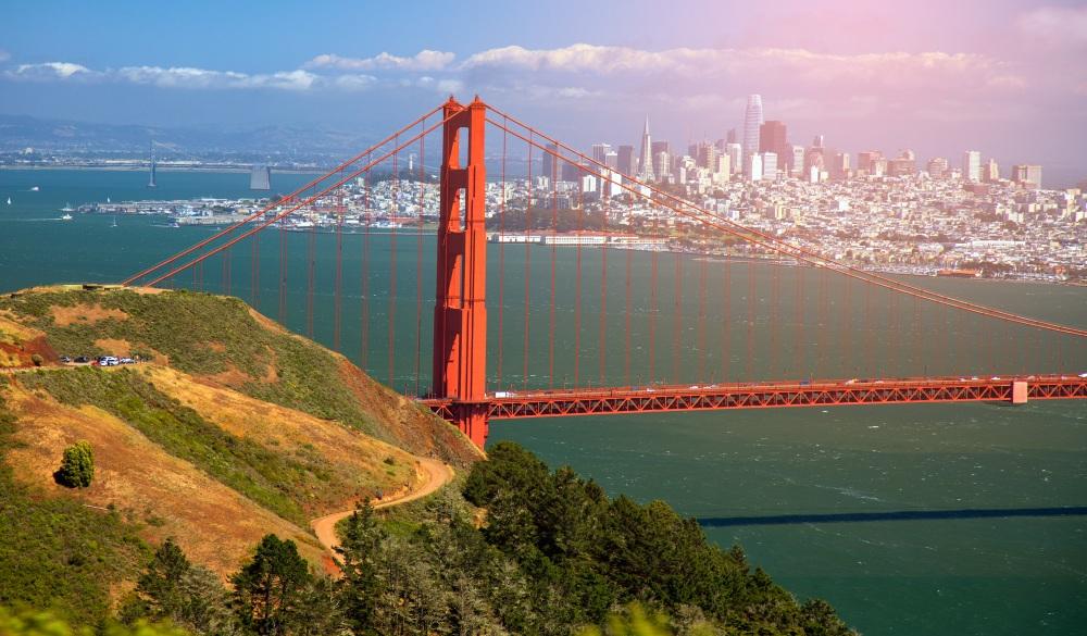 Battery Spencer and Golden Gate bridge