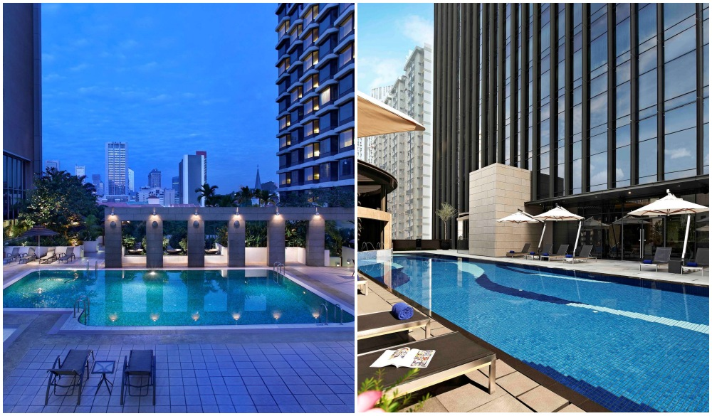 Carlton City Hotel Singapore, Singapore hotel pools