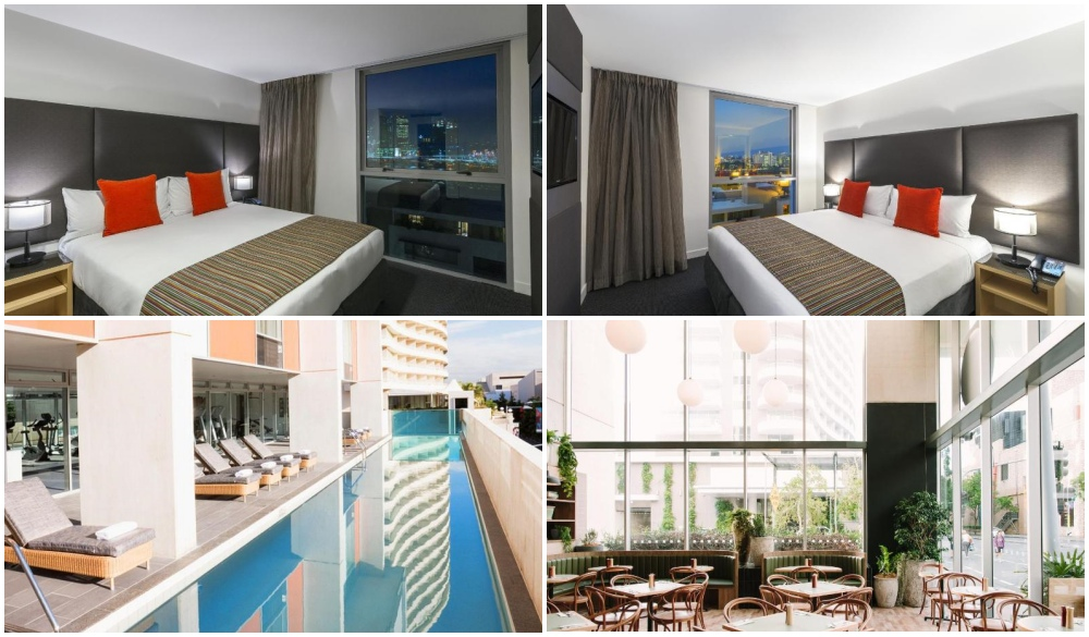 Mantra South Bank, hotels with river view