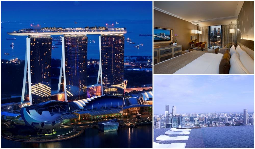 Marina Bay Sands, Singapore hotel pools