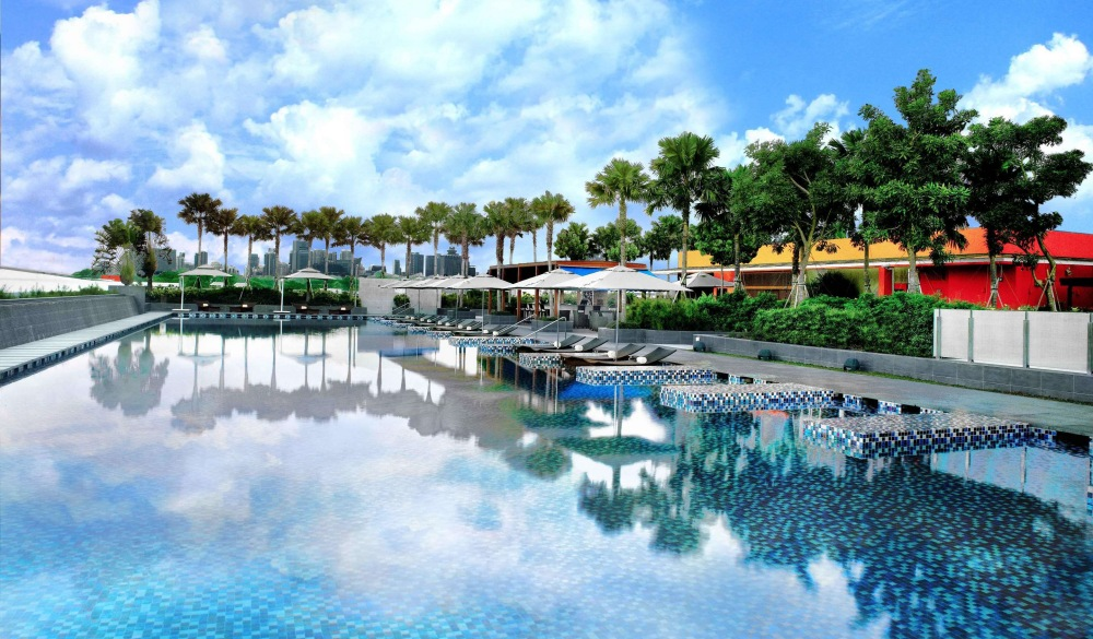 One Farrer Hotel & Spa, singapore hotel pools