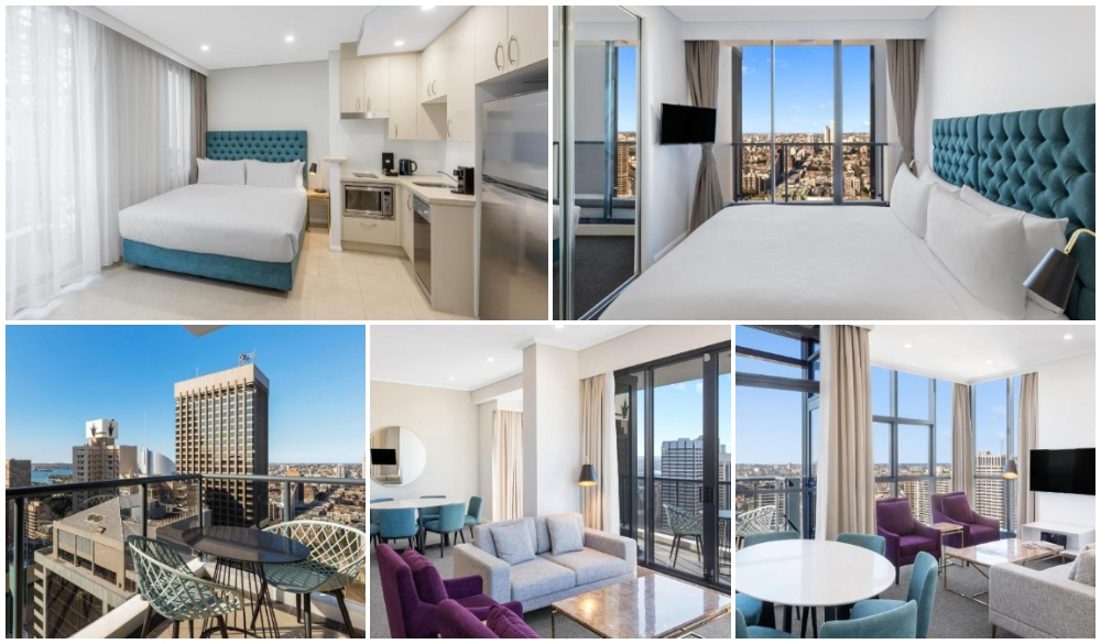 Meriton Suites Pitt Street, Sydney serviced apartment