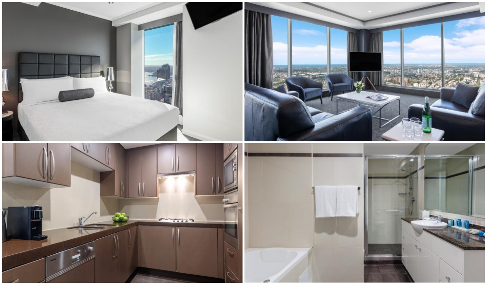 Meriton Suites World Tower, serviced apartment