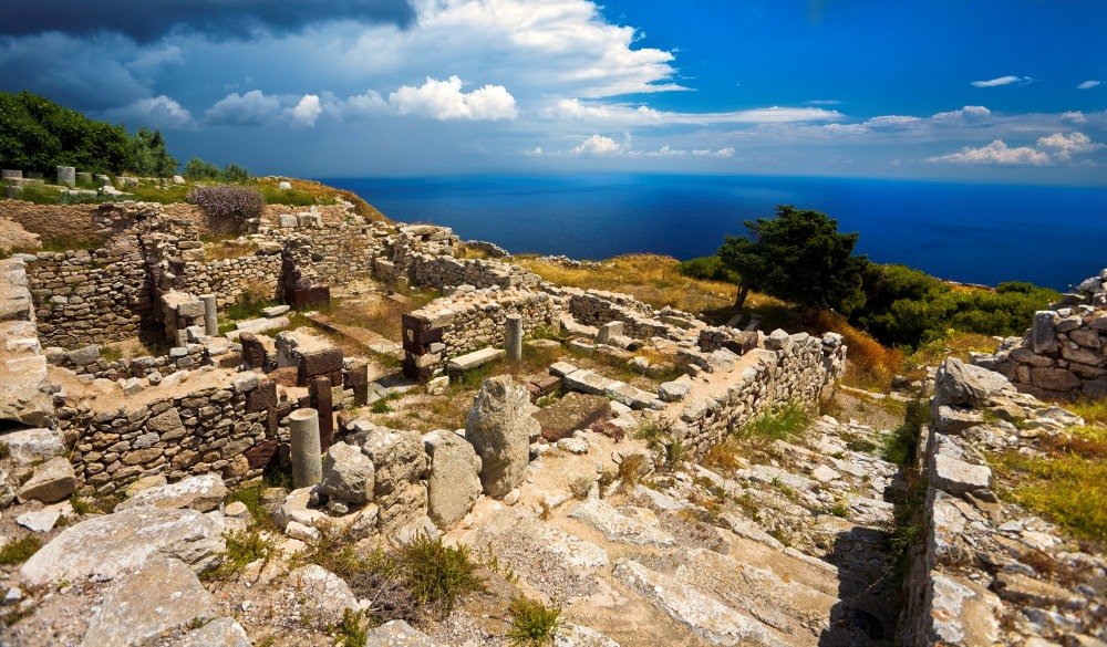 The excavations of Ancient Thera