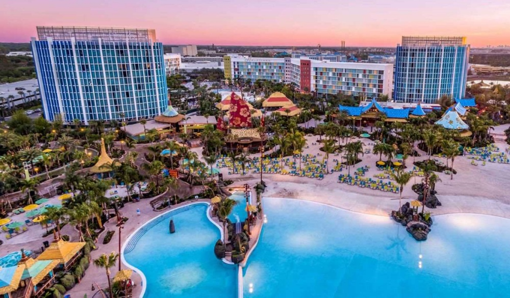 Cabana Bay Beach Resort, Orlando hotels with lazy river