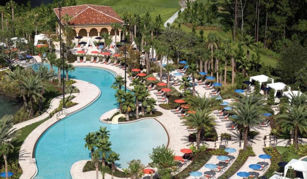Four Seasons Resort Orlando at Walt Disney World, Orlando hotels with lazy river