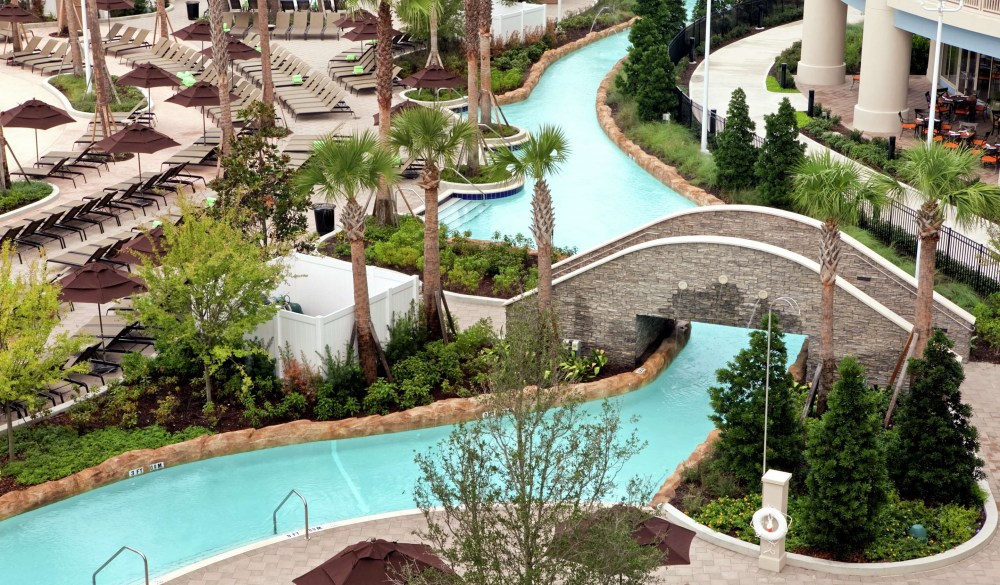 Hilton Orlando Bonnet Creek, Orlando hotel with lazy river