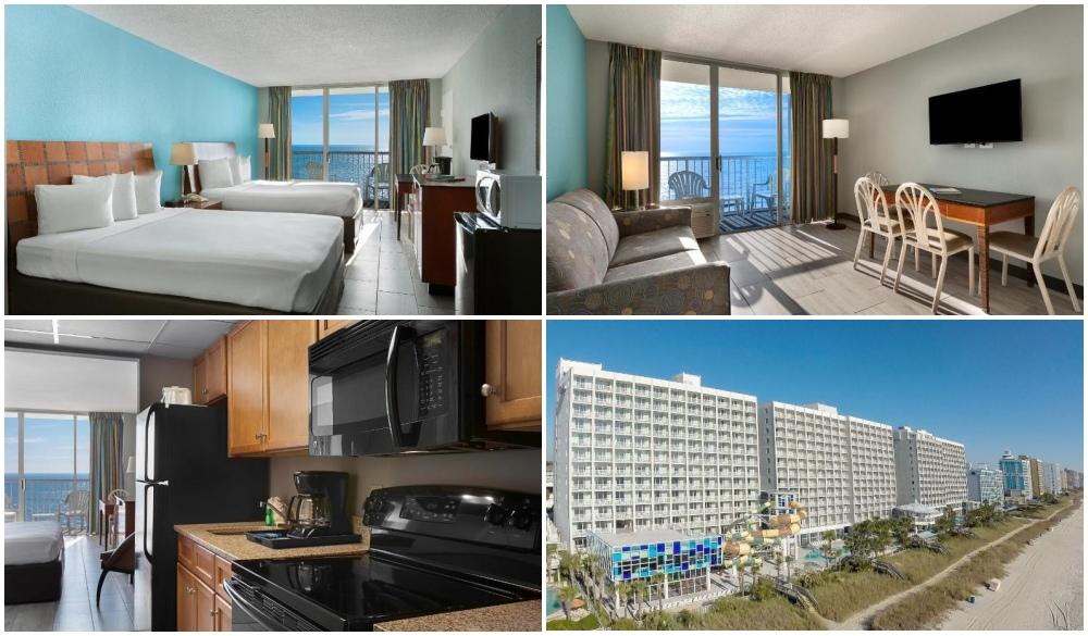 Crown Reef Resort and Waterpark, Myrtle Beach hotel