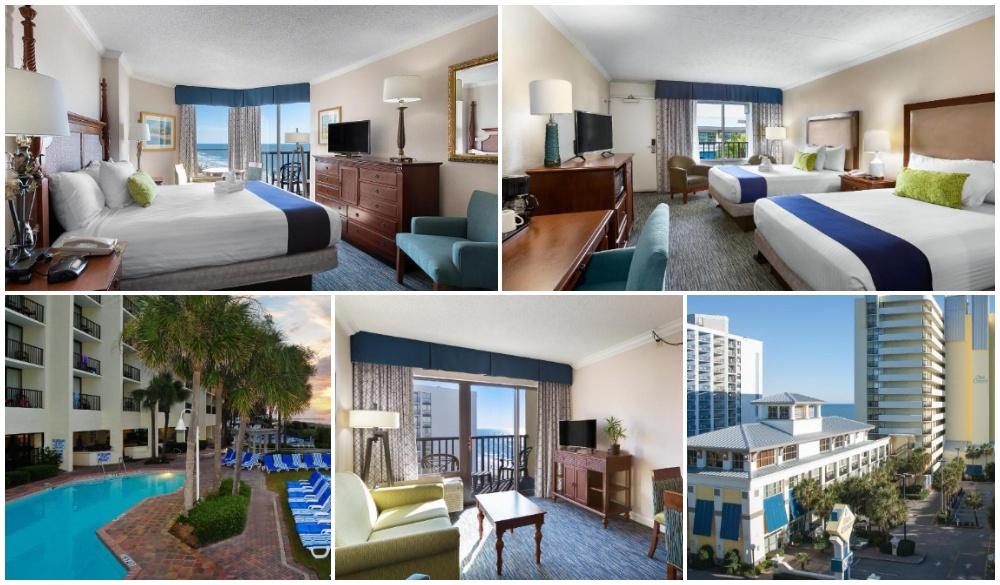 Sea Crest Oceanfront Resort, Hotel in Myrtle beach
