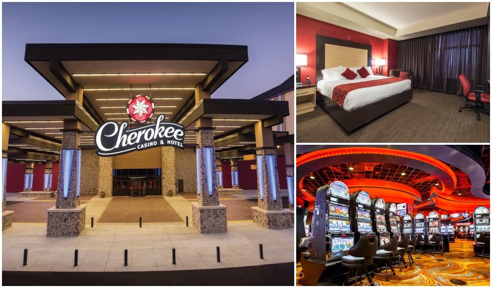 Cherokee Casino & Hotel Roland, hotels and casino