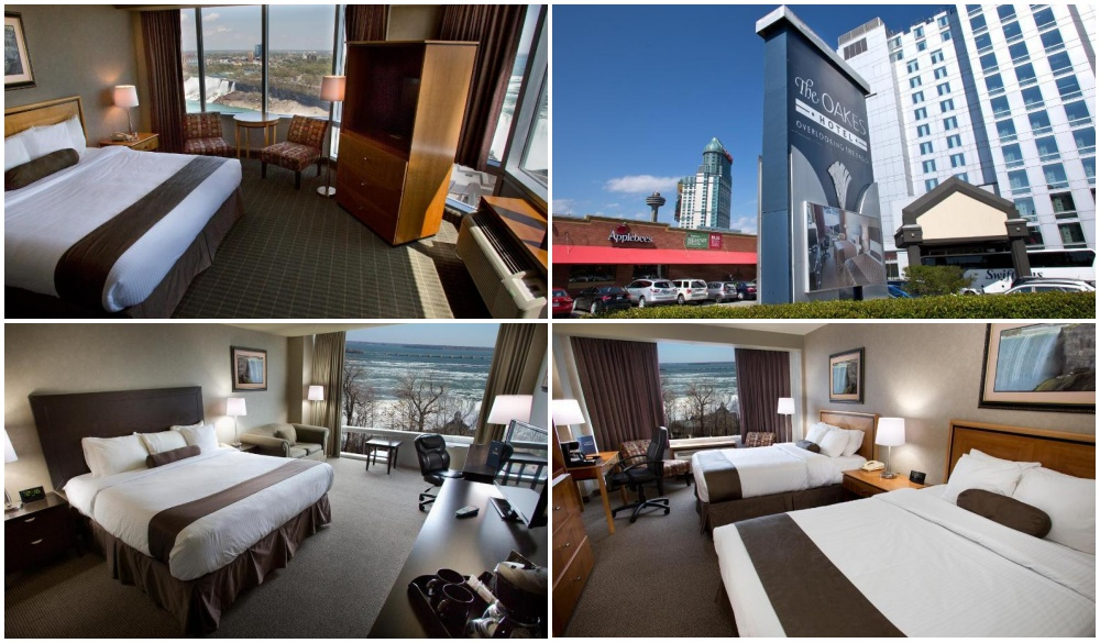 Oakes Hotel Overlooking the Falls, hotels with the best views of niagara falls