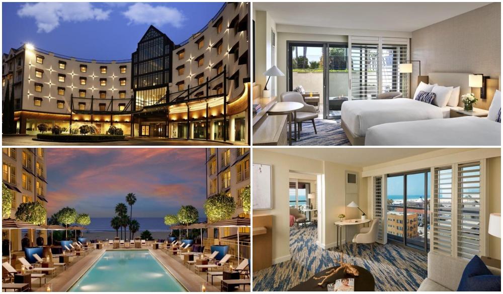 Loews Santa Monica Beach Hotel, beachfront hotel