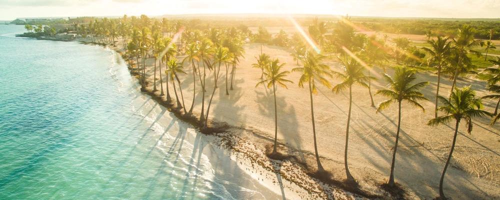 sunny afternoon. Juanillo beach, Punta Cana