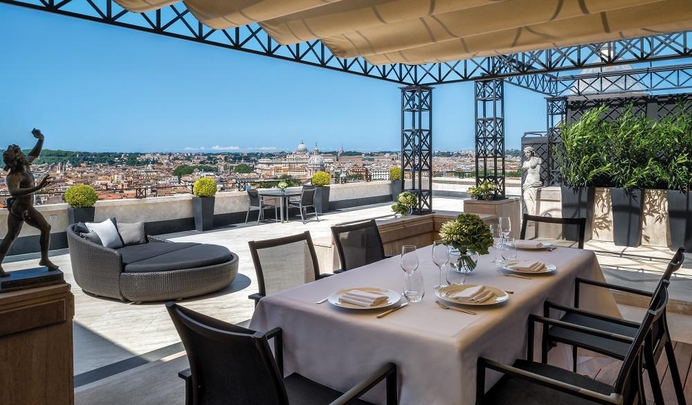 Hotel Hassler terrace