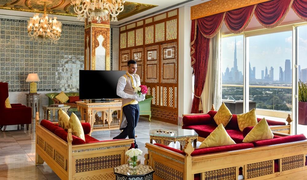 Raffles Dubai penthouse