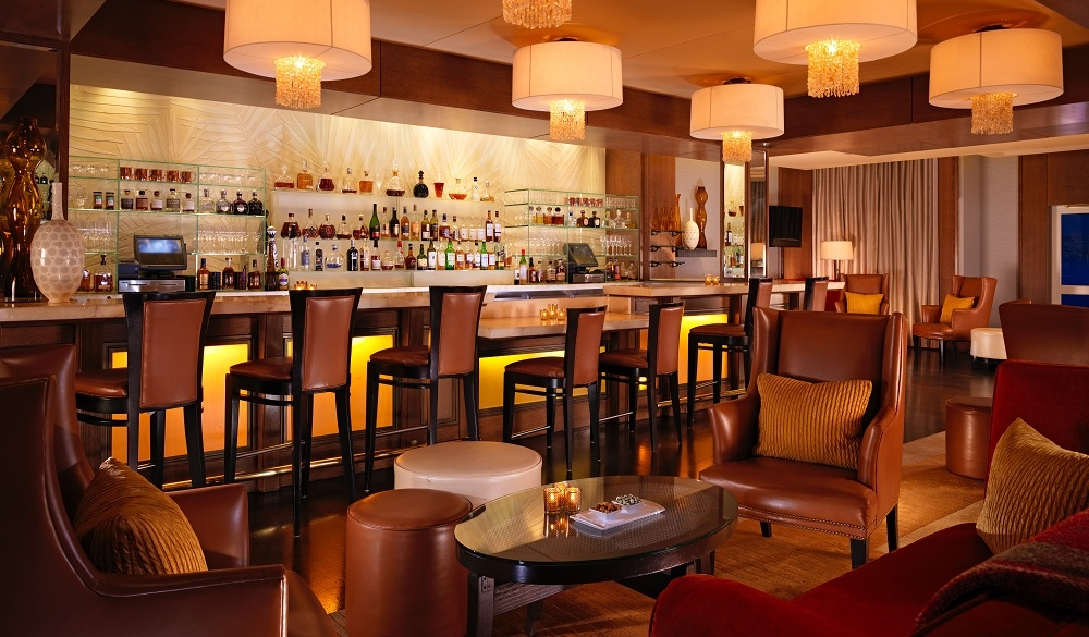 The Beverly Hills Hotel bar