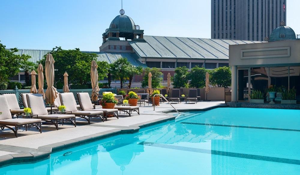 Windsor Court Hotel swimming pool