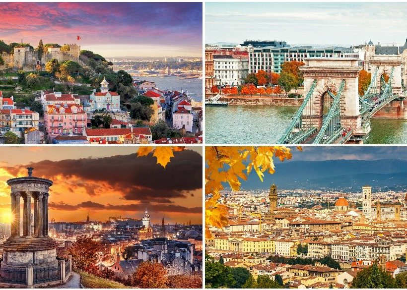 6 Affordable Autumn City Breaks in Europe and Where to Stay