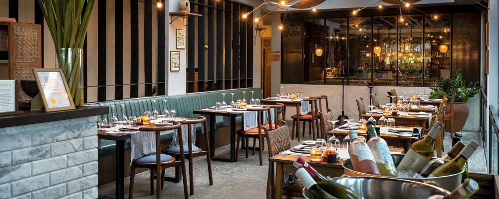 Copper Kitchen & Bar at Bisma Eight