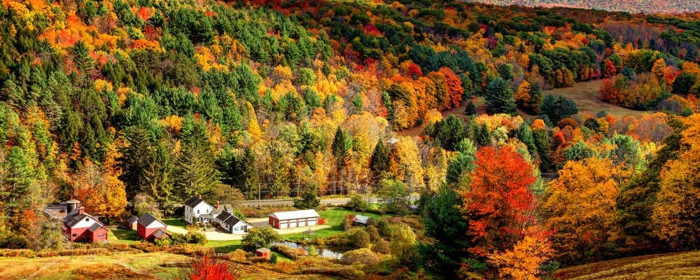Berkshires, MA, fall getaways from New York