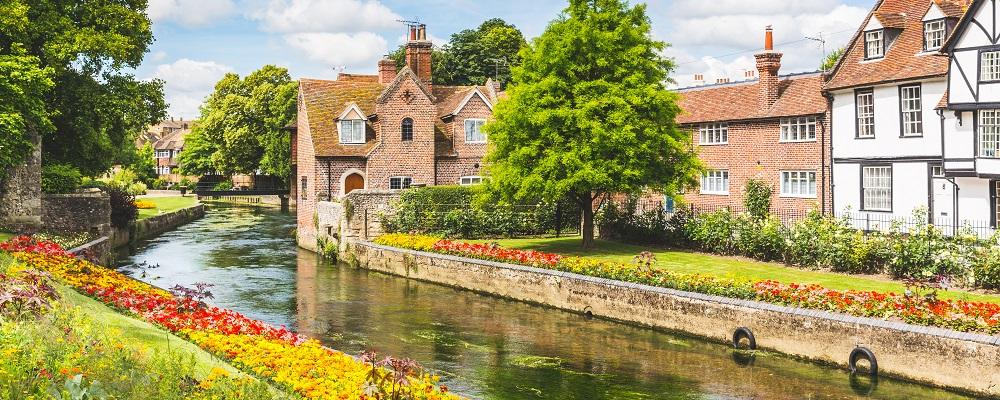 Canterbury, weekend getaways from London