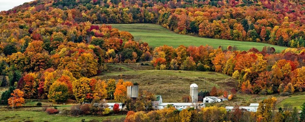 Catskills, fall getaways from New York