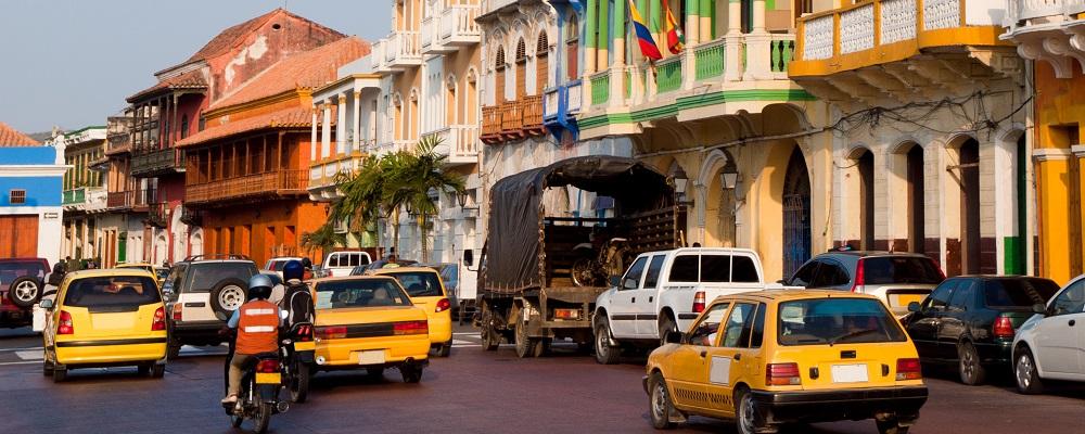 Getsemani district of Cartagena