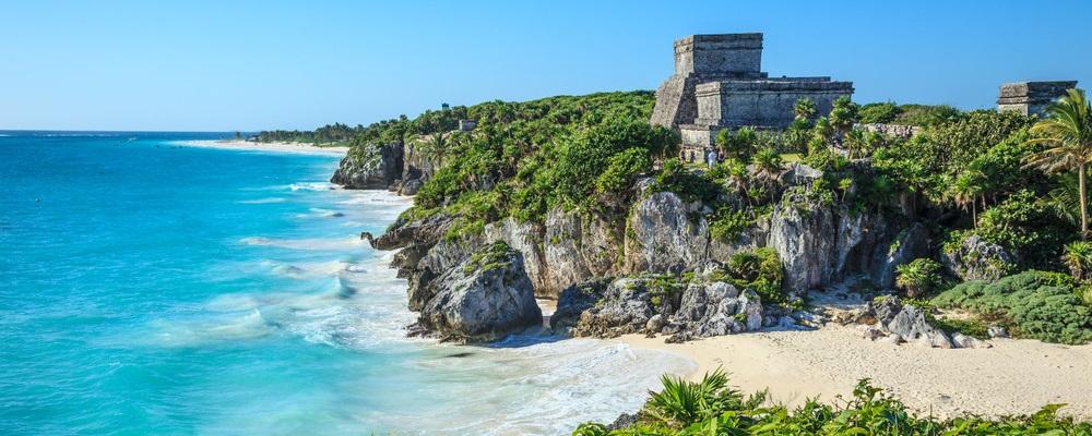Tulum, Mayan Ruin, beach