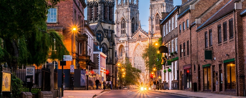 York, weekend getaways from London
