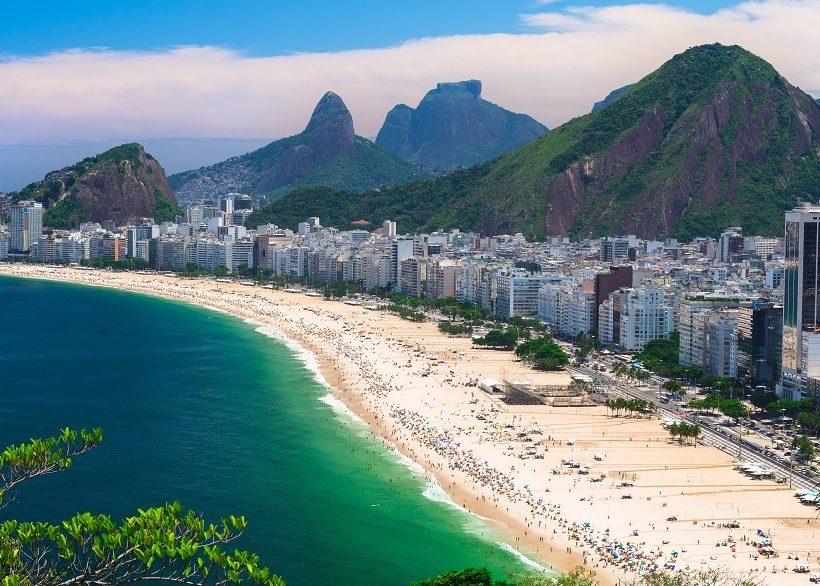 Luxury & Budget Hotels on Copacabana Beach, Rio de Janeiro