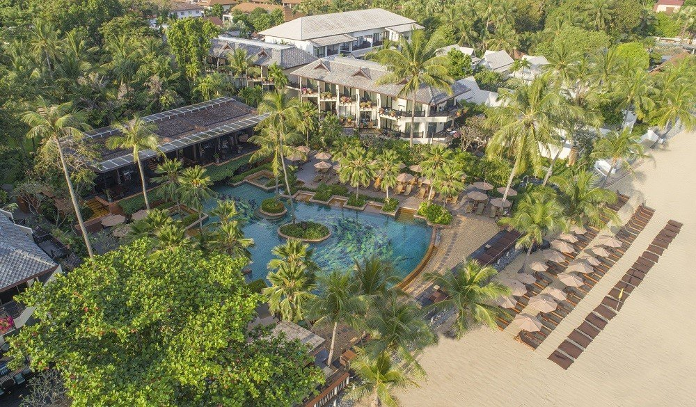 Anantara Bophut Resort & Spa, christmas beach vacations