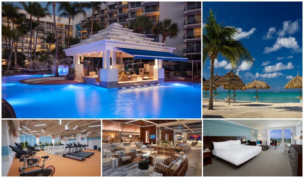 Aruba Marriott Resort & Stellaris Casino, christmas beach vacations