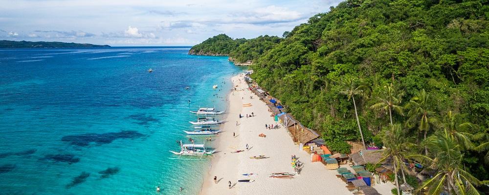 christmas beach vacations in Boracay Island
