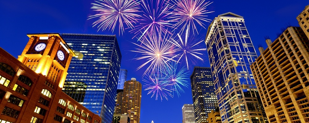 New year's eve in Chicago