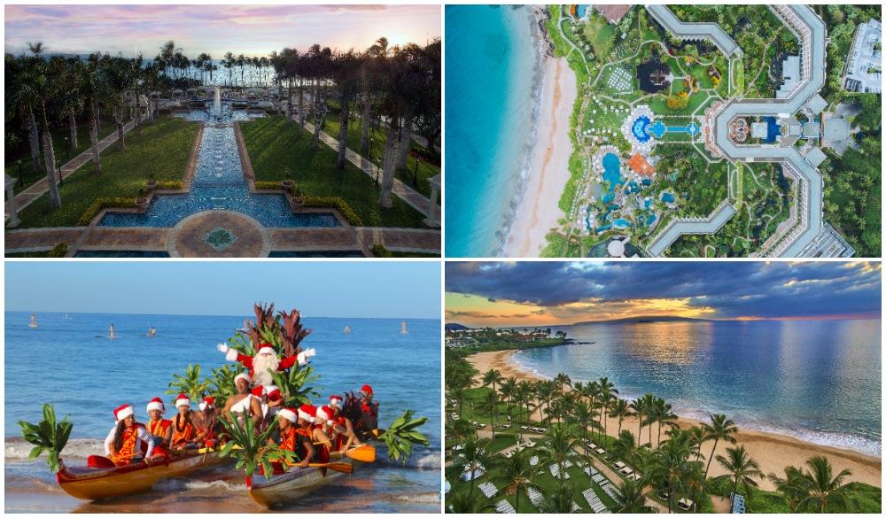Grand Wailea Resort Hotel & Spa, A Waldorf Astoria Resort, christmas beach vacations