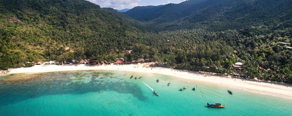 Koh Phangan, beach getaways