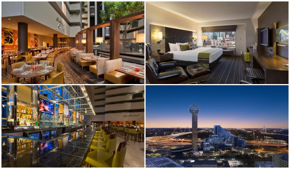 Hyatt Regency Dallas, hotels for new year's eve
