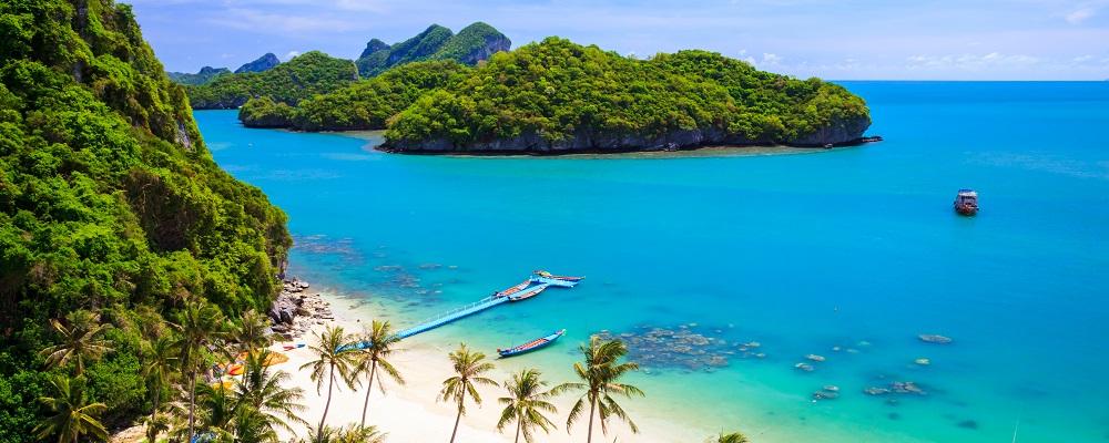 Christmas beach vacations in Koh Samui, Thailand