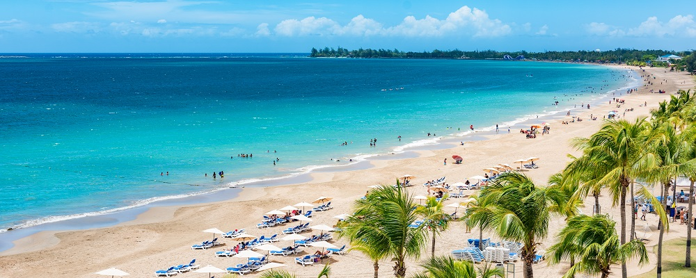 Christmas beach vacations in San Juan, Puerto Rico