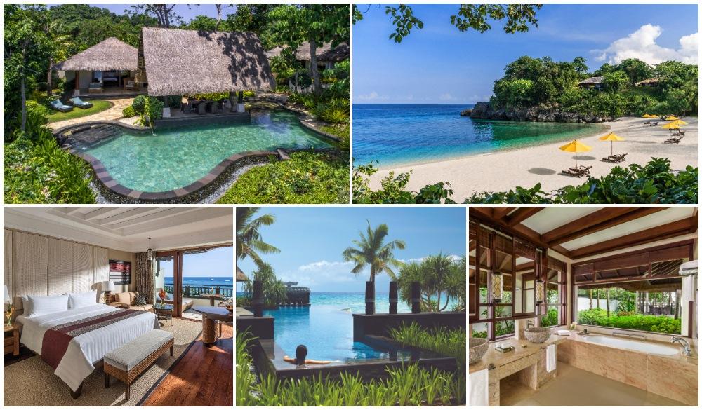Shangri-La's Boracay Resort and Spa, hotel for christmas beach vacations