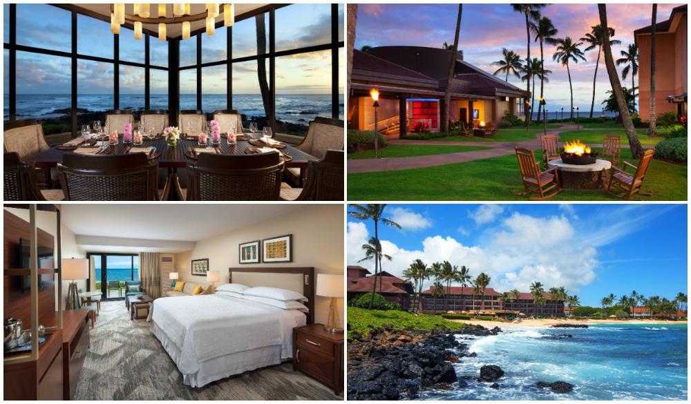 Sheraton Kauai Resort, beach getaways