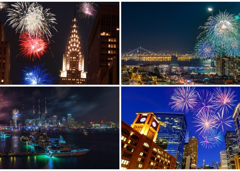 6 Best U.S. Cities to Spend New Year's Eve