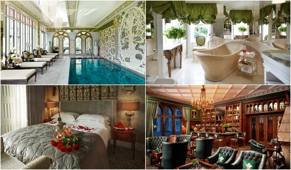 Ashford Castle, romantic castle hotels