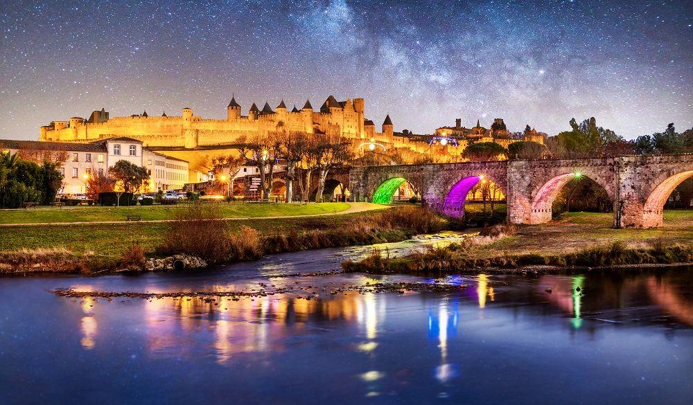 Carcassonne castle hotels