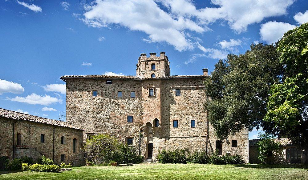 Castel Porrona Relais & Spa, romantic castle hotels